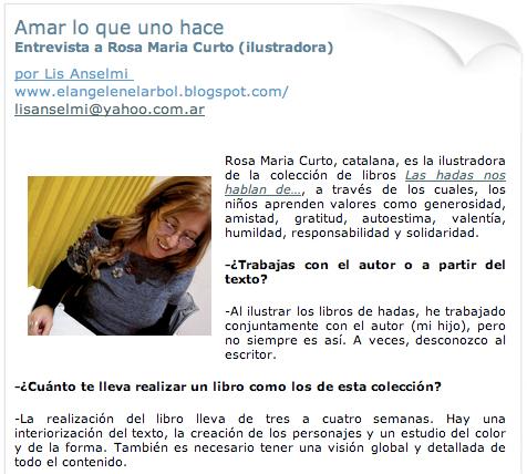 Entrevista Rosa Maria Curto
