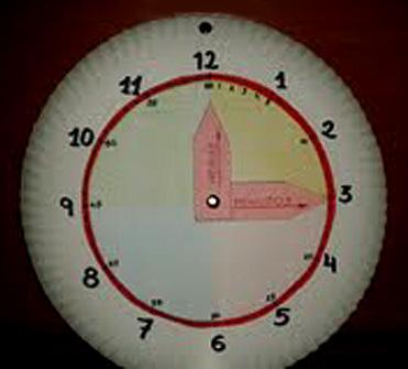 Rellotge Sílvia i Alícia