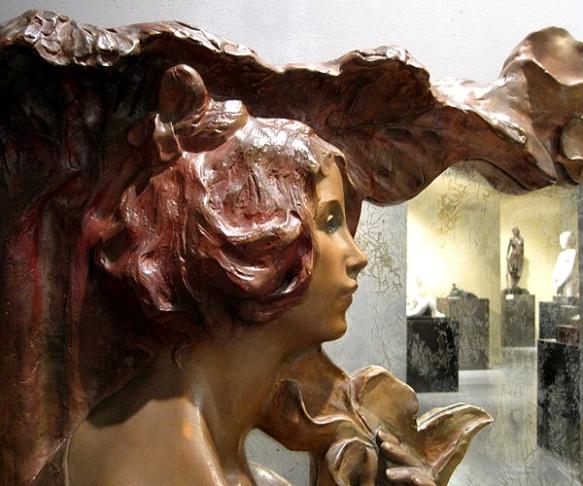 escultures dins del mirall