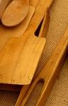 estris fusta a la cuina