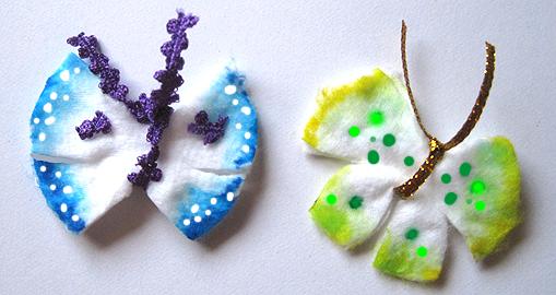 papallones de cotó