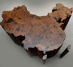 escultura mapa